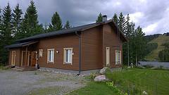 Mökki Tahkolla (Kuva: Visit Lakeland CC BY-ND 2.0)
